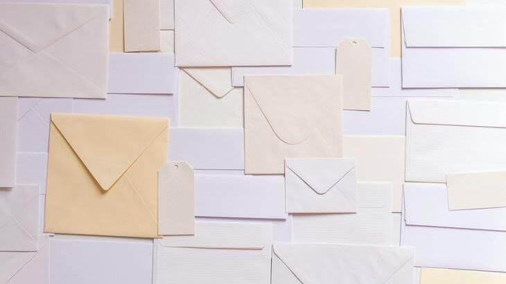 退職届(願)の封筒の選び方